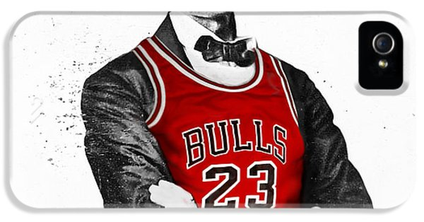 Abe Lincoln In A Bulls Jersey IPhone 5s Case by Roly Orihuela