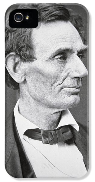 Abraham Lincoln iPhone 5s Case - Abraham Lincoln by Alexander Hesler