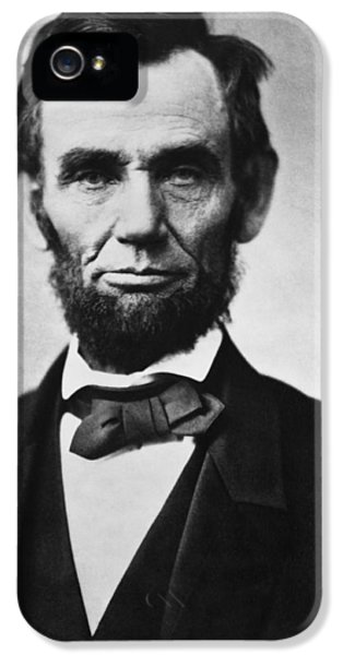 Abraham Lincoln IPhone 5s Case by War Is Hell Store