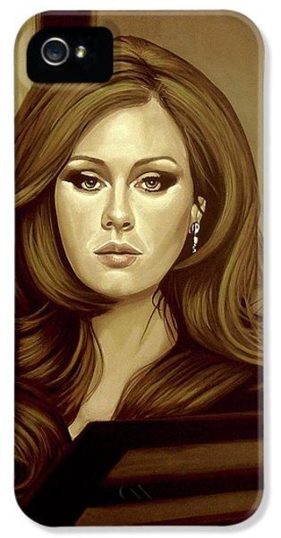 Adele Gold IPhone 5s Case by Paul Meijering