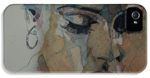Adele - Make You Feel My Love  IPhone 5s Case by Paul Lovering