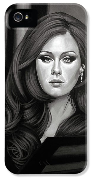 Adele Mixed Media IPhone 5s Case by Paul Meijering