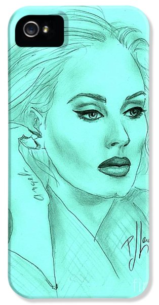 Adele IPhone 5s Case by P J Lewis