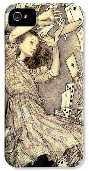 Adventures In Wonderland IPhone 5s Case by Arthur Rackham