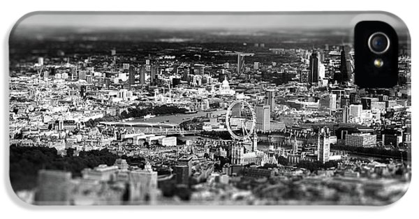 Aerial View Of London 6 IPhone 5s Case by Mark Rogan