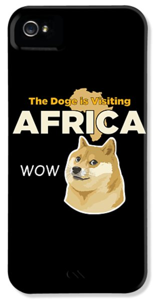 Africa Doge IPhone 5s Case by Michael Jordan