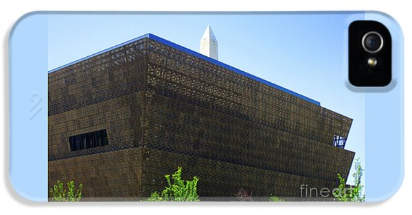 Smithsonian Museum iPhone 5s Case - African American History And Culture 1 by Randall Weidner