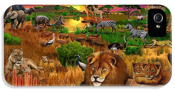 Cheetah iPhone 5s Case - African Evening by Gerald Newton