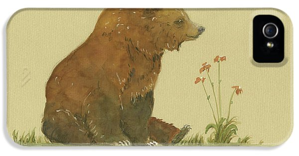 Alaskan Grizzly Bear IPhone 5s Case