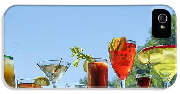 Alcoholic Beverages - Outdoor Bar IPhone 5s Case