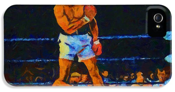 Sonny iPhone 5s Case - Ali Over Liston by Dan Sproul