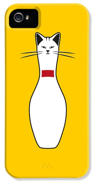 Cat iPhone 5s Case - Alley Cat by Nicholas Ely