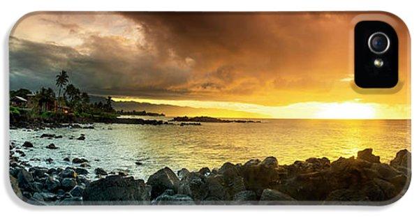 Alligator iPhone 5s Case - Alligator Rock Sunset by Sean Davey