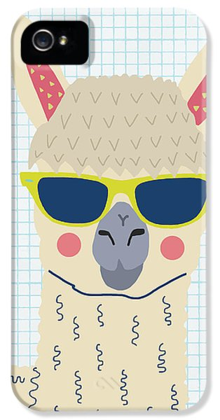 Alpaca IPhone 5s Case by Nicole Wilson