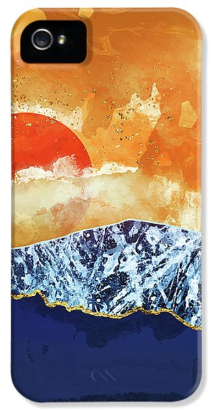 Landscapes iPhone 5s Case - Amber Dusk by Katherine Smit