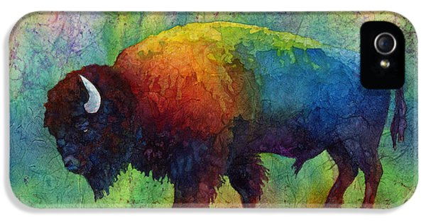 American Buffalo 6 IPhone 5s Case by Hailey E Herrera