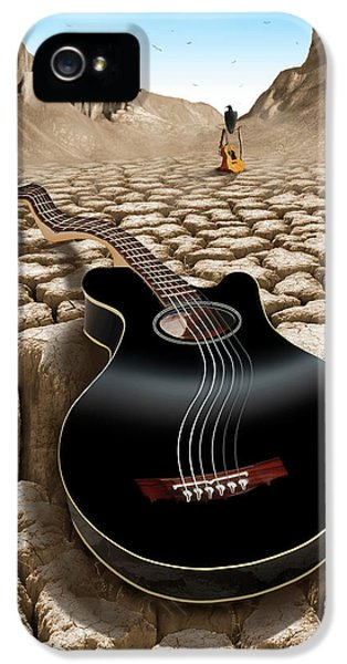 Buzzard iPhone 5s Case - An Acoustic Nightmare 2 by Mike McGlothlen