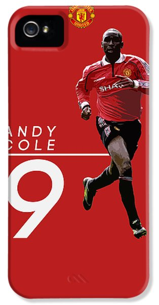 Andy Cole IPhone 5s Case by Semih Yurdabak