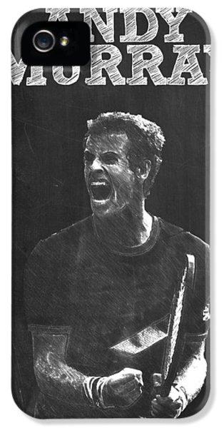 Andy Murray IPhone 5s Case by Semih Yurdabak
