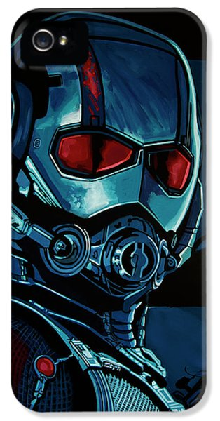 Ant Man Painting IPhone 5s Case by Paul Meijering