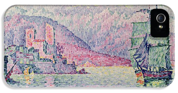 Impressionism iPhone 5s Case - Antibes by Paul Signac