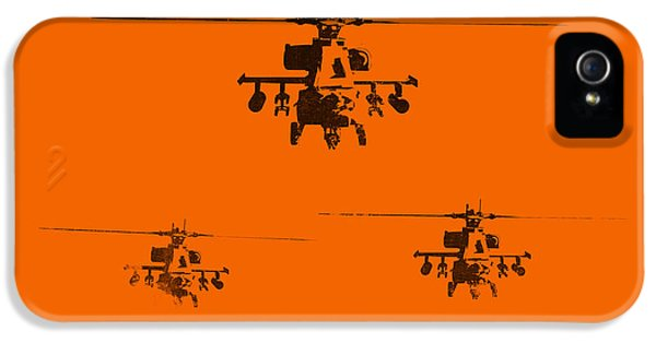Helicopter iPhone 5s Case - Apache Dawn by Pixel  Chimp