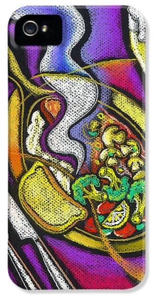 Broccoli iPhone 5s Case - Appetizing Dinner by Leon Zernitsky
