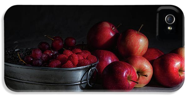 Apples And Berries Panoramic IPhone 5s Case by Tom Mc Nemar