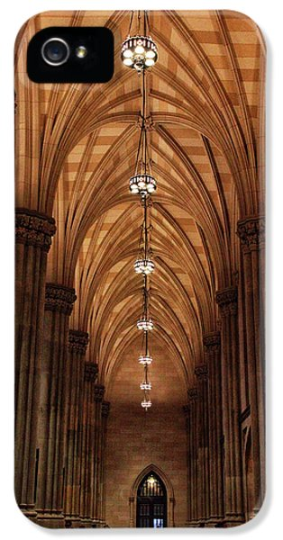 IPhone 5s Case featuring the photograph Arches Of St. Patrick's Cathedral by Jessica Jenney