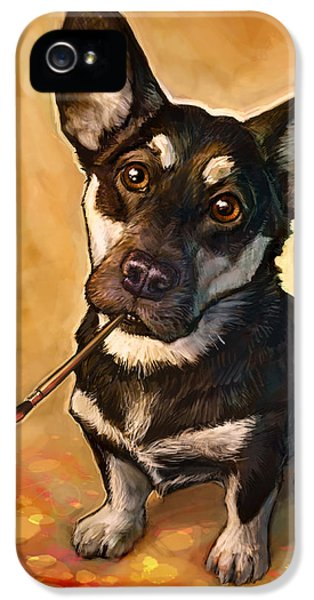 Portraits iPhone 5s Case - Arfist by Sean ODaniels