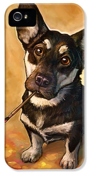 Portraits iPhone 5s Case - Arfist by Sean ODaniels