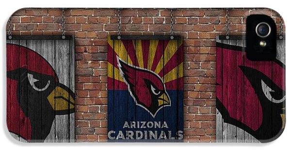 Arizona Cardinals Brick Wall IPhone 5s Case