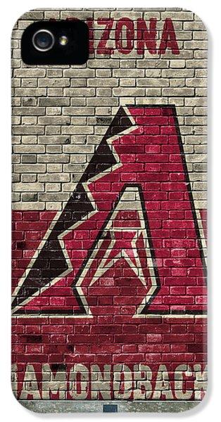 Arizona Diamondbacks Brick Wall IPhone 5s Case by Joe Hamilton