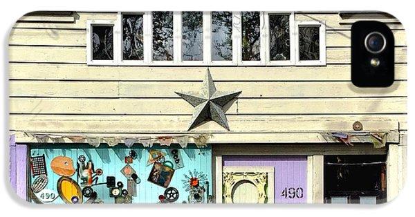 House iPhone 5s Case - Artful Door by Julie Gebhardt