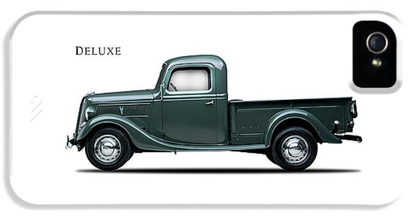 Ford Deluxe Pickup 1937 IPhone 5s Case by Mark Rogan