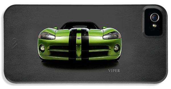 Dodge Viper IPhone 5s Case by Mark Rogan