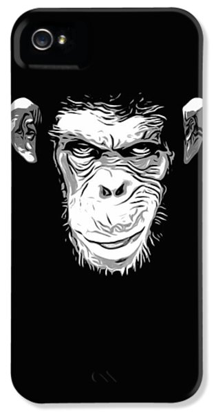 Evil Monkey IPhone 5s Case by Nicklas Gustafsson