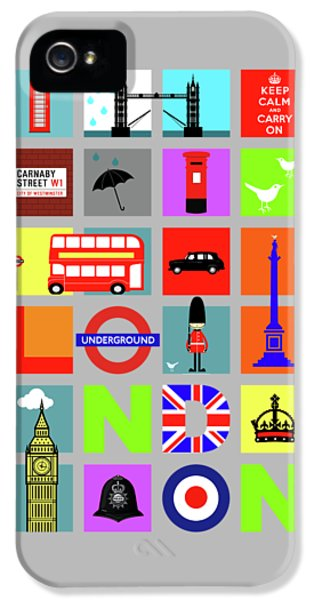London IPhone 5s Case