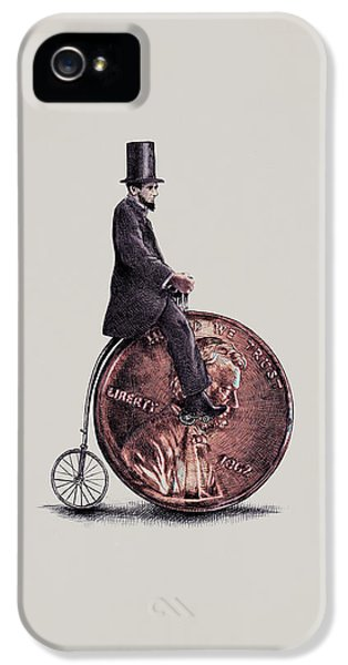 Penny Farthing IPhone 5s Case by Eric Fan