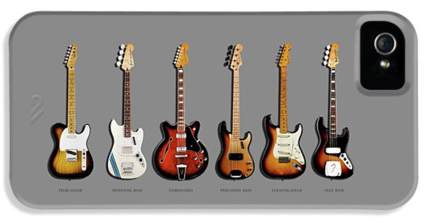 Music iPhone 5s Case - Fender Guitar Collection by Mark Rogan