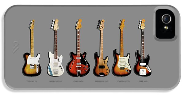 Fender Guitar Collection IPhone 5s Case by Mark Rogan