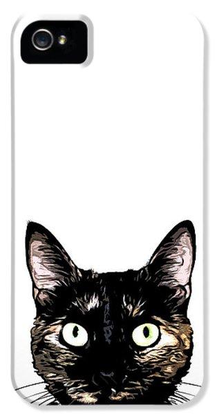 Peeking Cat IPhone 5s Case