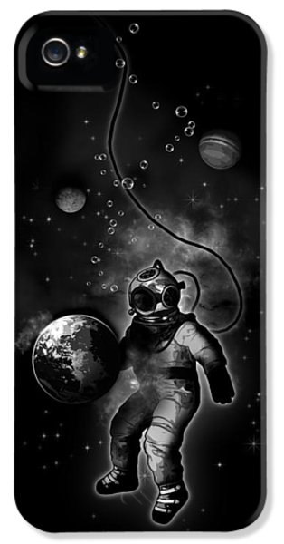 Deep Sea Space Diver IPhone 5s Case