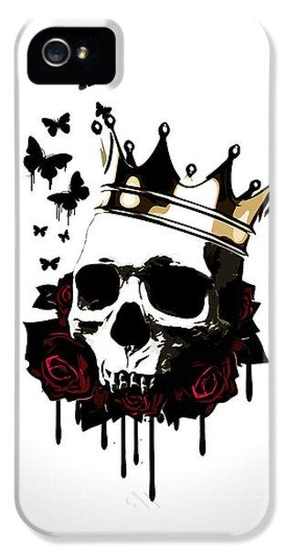 Rose iPhone 5s Case - El Rey De La Muerte by Nicklas Gustafsson