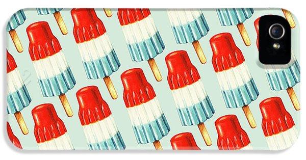 Nostalgia iPhone 5s Case - Bomb Pop Pattern by Kelly Gilleran