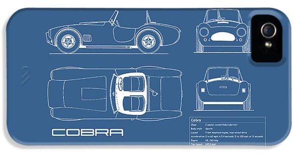 Ac Cobra Blueprint IPhone 5s Case by Mark Rogan