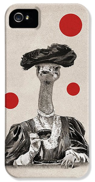 Ostrich iPhone 5s Case - Animal12 by Francois Brumas