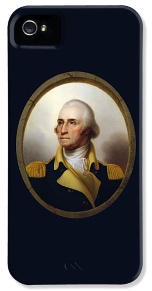General Washington - Porthole Portrait  IPhone 5s Case by War Is Hell Store