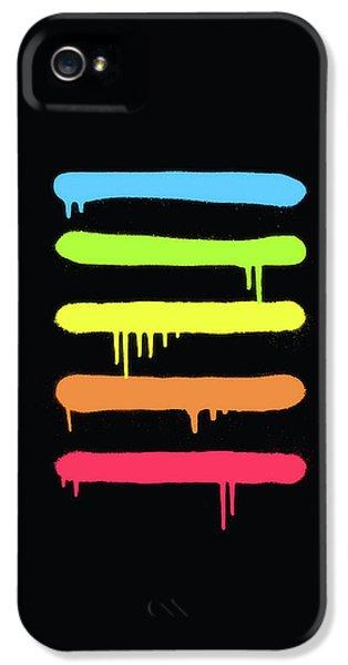 Biggie iPhone 5s Case -  Trendy Cool Graffiti Tag Lines by Philipp Rietz