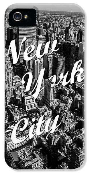 New York City IPhone 5s Case by Nicklas Gustafsson